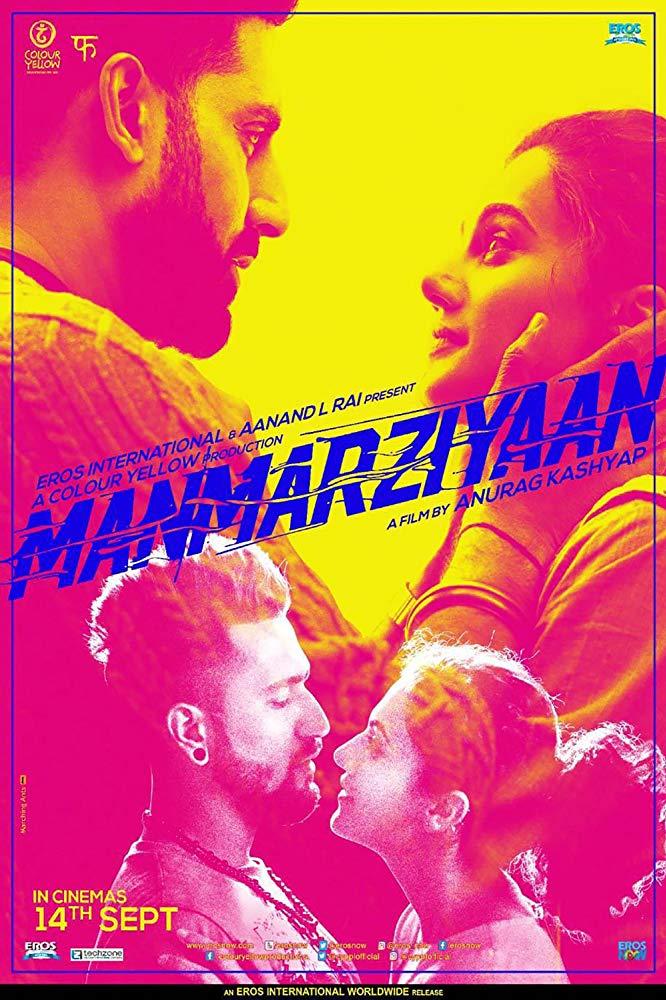 دانلود فیلم هندی رفتارها Manmarziyaan 2018 دوبله فارسی