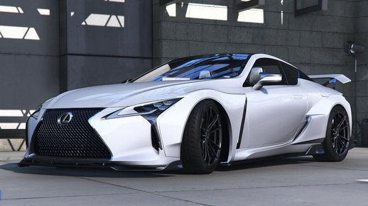 خودرو لکسوس LC500 2020 برای GTA V