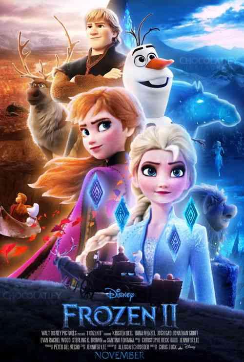 دانلود انیمیشن جدید یخ زده ۲ Frozen 2 2019 دوبله فارسی