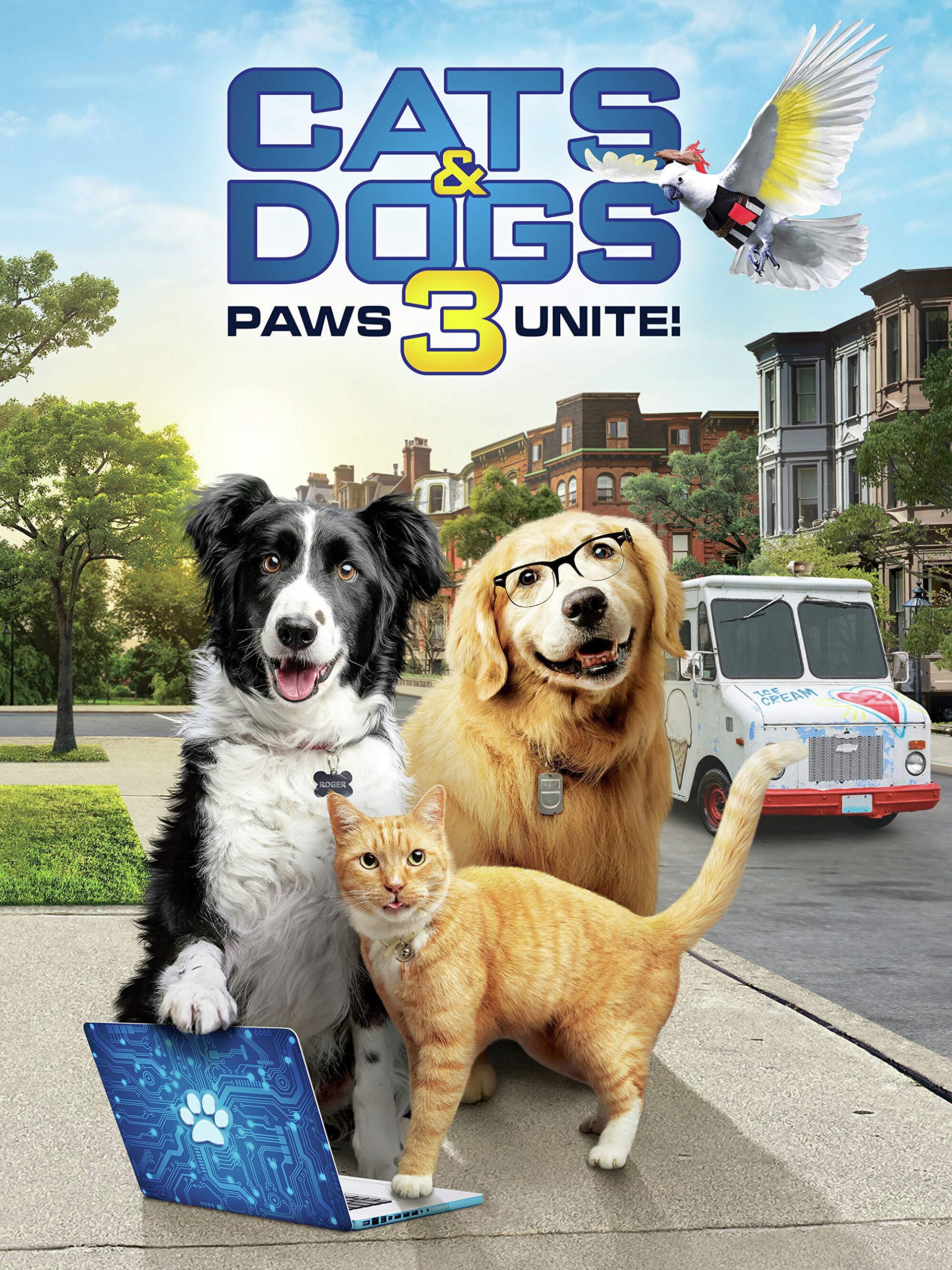 دانلود فیلم کمدی Cats & Dogs 3: Paws Unite 2020 گربه ها و سگها 3 پنجه ها متحد می شوند دوبله فارسی