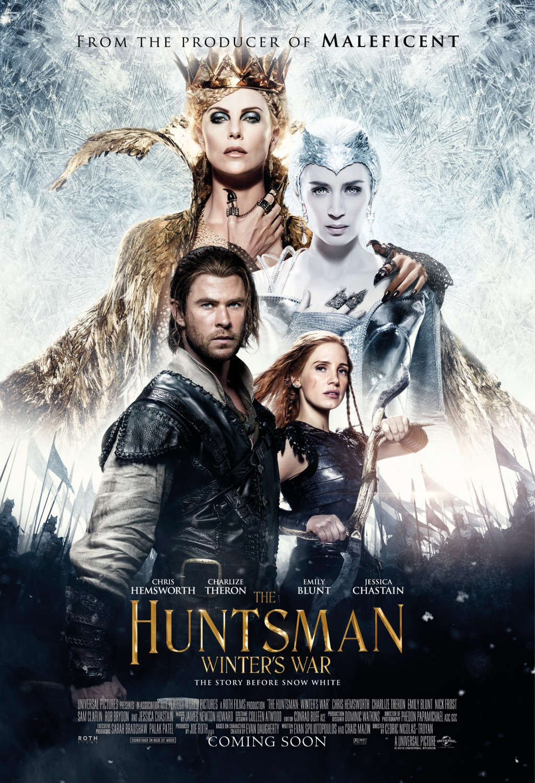 دانلود فیلم اکشن The Huntsman Winters War 2016 شکارچی جنگ زمستان دوبله فارسی