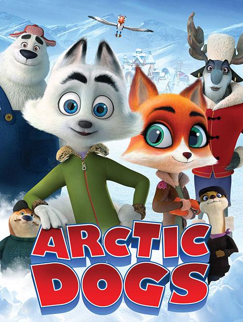 دانلود انیمیشن جدید Arctic Dogs 2019 سگهای قطب شمال دوبله فارسی