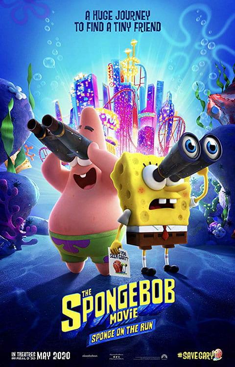 دانلود انیمیشن جدید The SpongeBob Movie 3 2020 باب اسفنجی ۳ دوبله فارسی