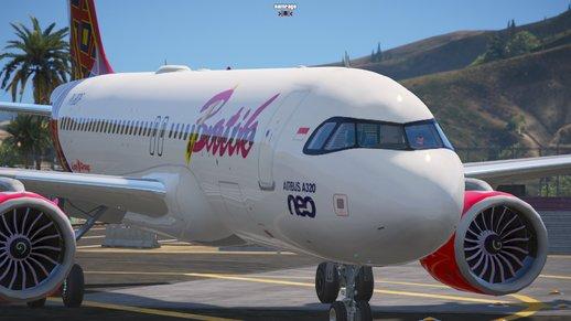 هواپیمای Livery Batik Air PK-BDF برای GTA V