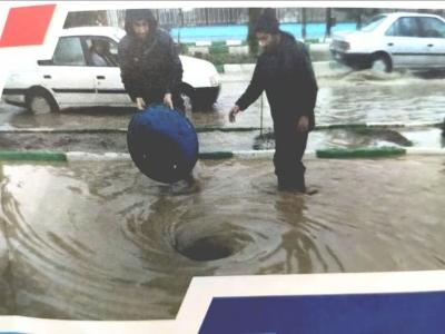 رفع ۴۱۲ مورد حوادث و اتفاقات بخش فاضلاب در شهرستان کرمانشاه