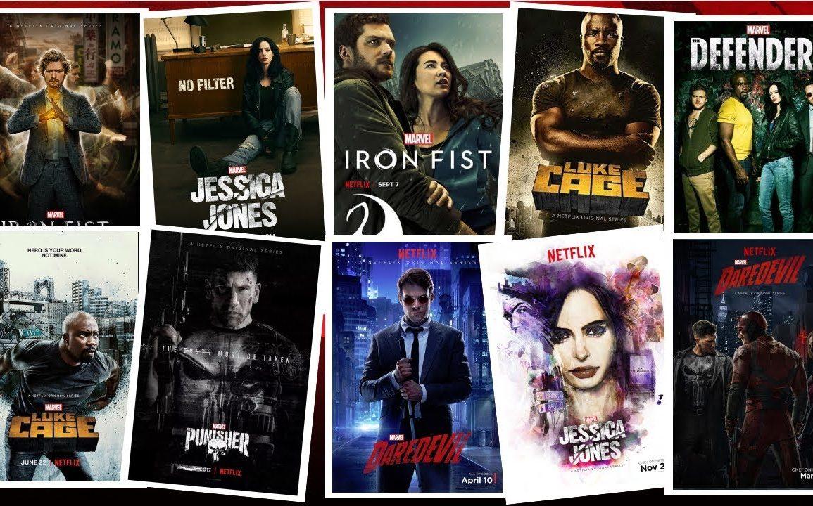 برترین سریال های مارول(رده بندی)