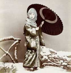 حجاب زنان ژاپني که مسلمان هم نيستند
