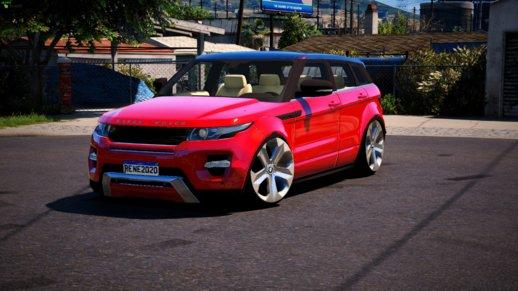 خودرو رنج روور Evoque برای GTA V