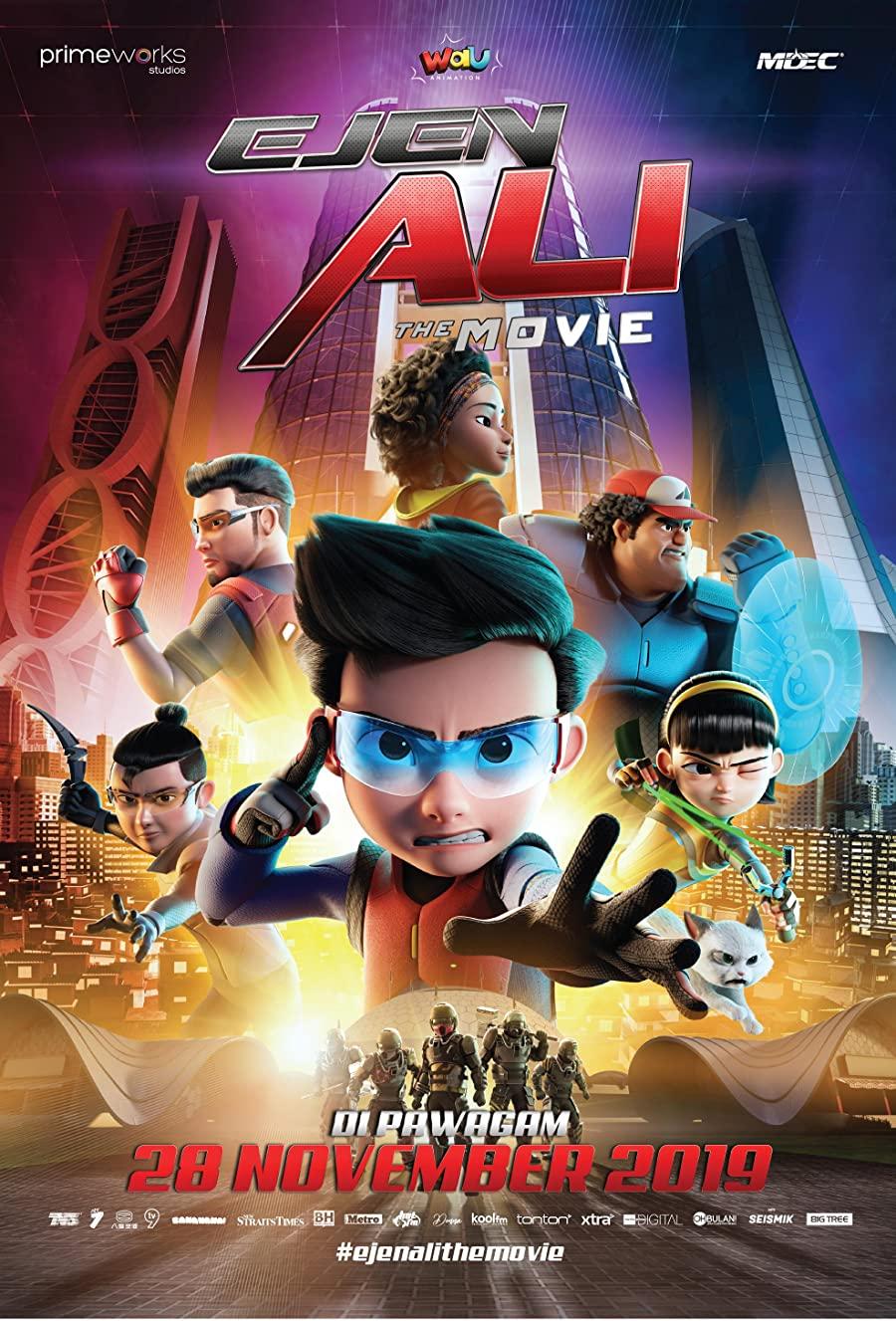 دانلود انیمیشن مامور علی Ejen Ali: The Movie 2020 با ریرنویس فارسی