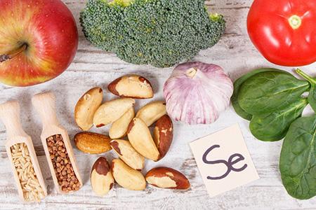 سلنیوم چیست،مواد غذایی حاوی سلنیوم