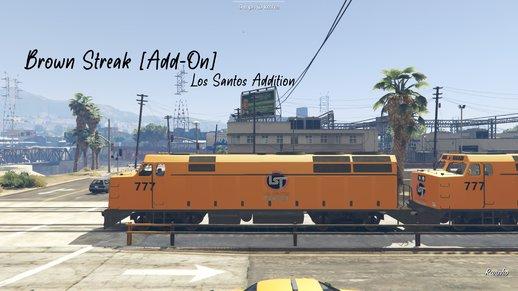 قطار واقعی برای GTA V