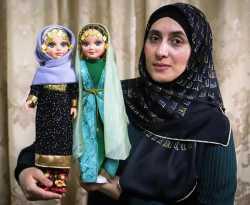 ساخت عروسک قرآن خوان توسط خانم روسي