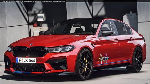 خودرو BMW m5 2021 برای GTA V