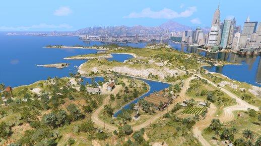 نقشه جدید GTA online برای حالت آفلاین بازی