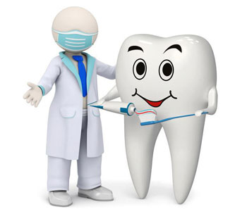 التهاب لثهها, پوسیدگی دندان ها