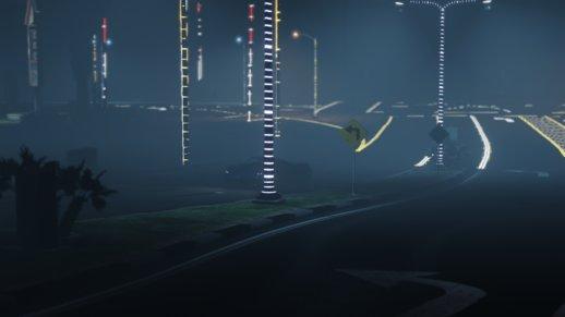 چراغ LED برای خیابان های GTA V
