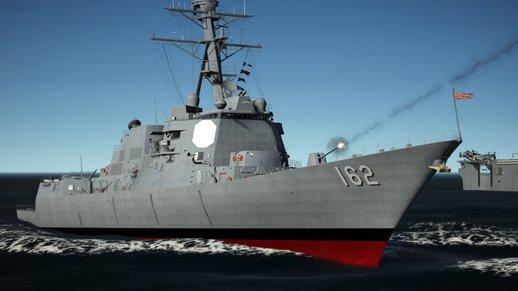 کشتی جنگی برای GTA V