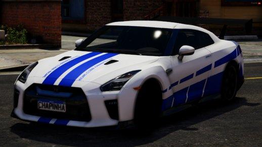 خودرو نیسان GTR Greg برای GTA V