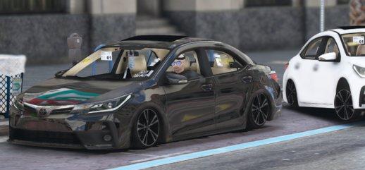 خودرو تویوتا Corolla 2017 برای GTA V