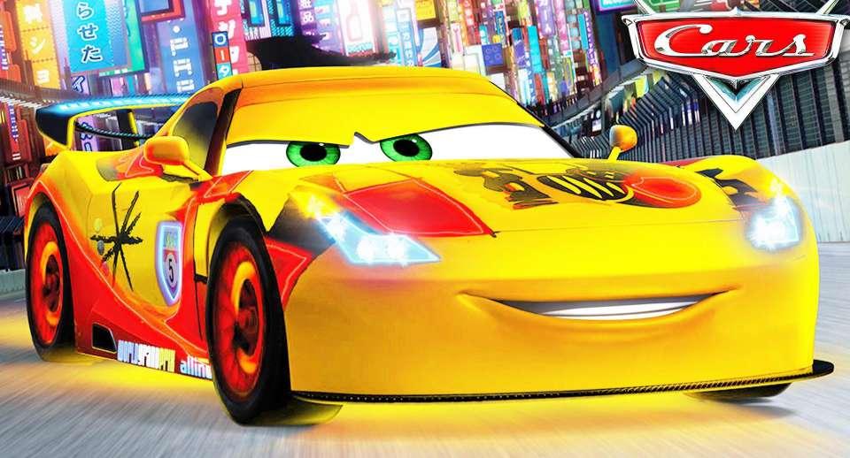عکس لایتنینگ مککوئین Lightning McQueen برای پروفایل