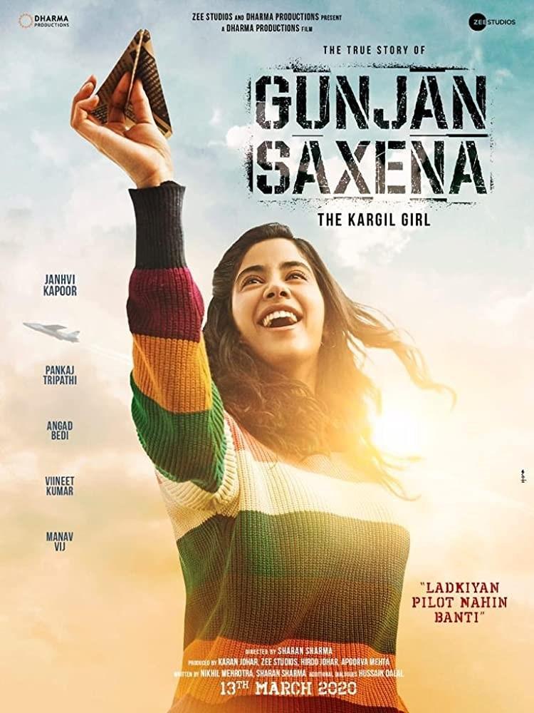دانلود فیلم Gunjan Saxena: The Kargil Girl 2020 گونجان ساکسنا: دختر کارگیل