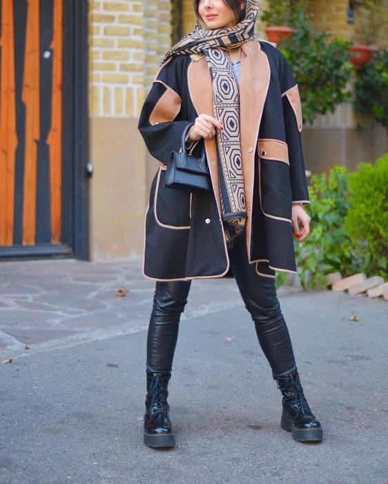 مدل مانتو دخترانه زمستانی جدید