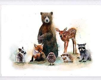 عکس نقاشی حیوانات زیبا برای کودکان