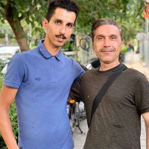 عکس های امیر آتشانی بازیگر باخانمان