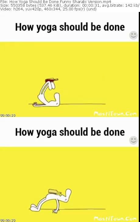 دانلود کلیپ خنده دار انجام حرکات یوگا