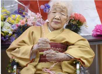 عکس پيرترين مادربزرگ دنيا