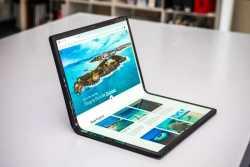 شرکت اينتل لپ تاپ با نمايشگر تاشو مي سازد