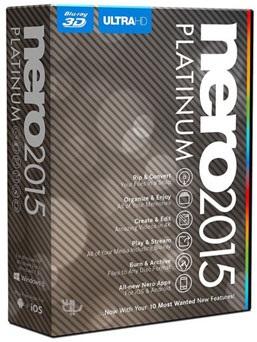 دانلود Nero 2015 Platinum 16.0.05500 – مجموعه ابزارهای نرو