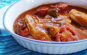 طرز تهيه خورش گوجه بادمجان خوشمزه