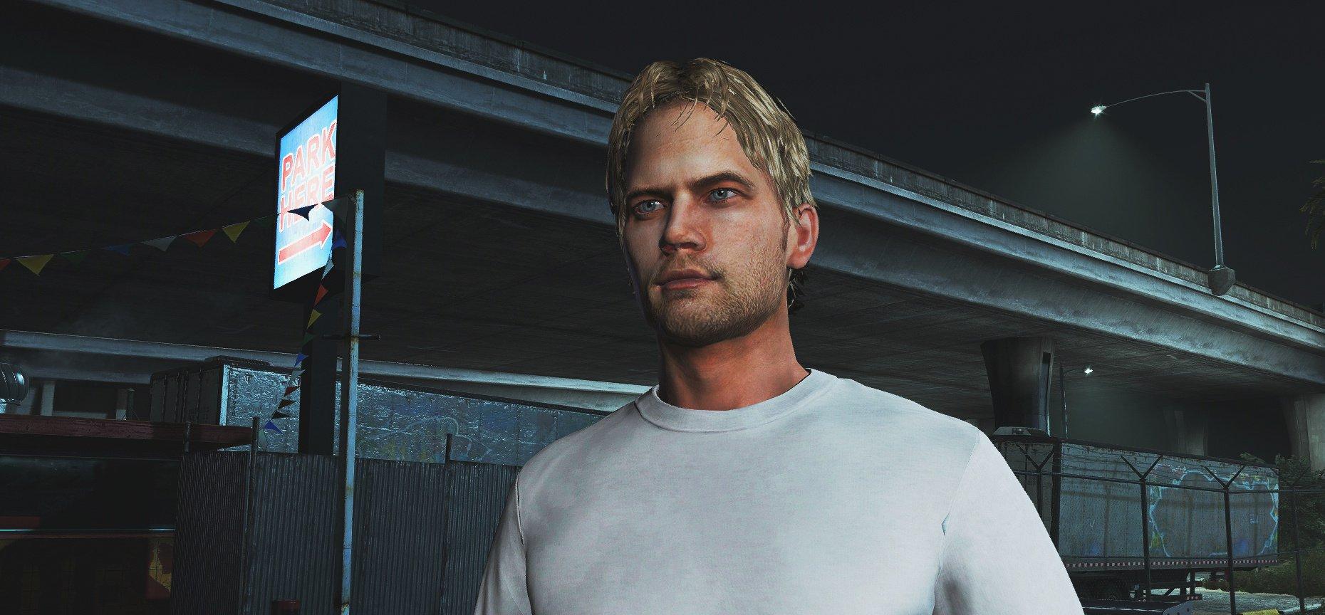 شخصیت Paul Walker برای GTA V