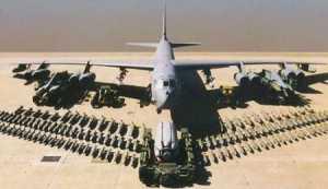 آمريکا دو بمب افکن بي 52 به خليج فارس فرستاد