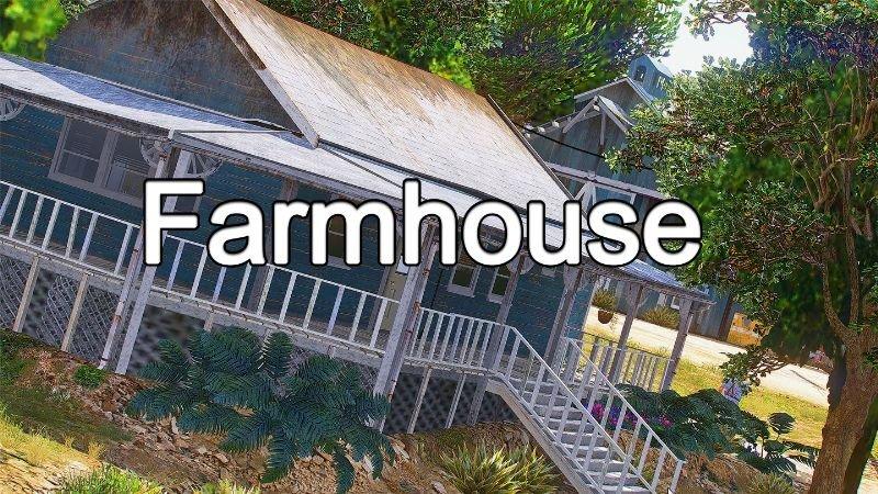 خانه جنگلی مدرن برای GTA V