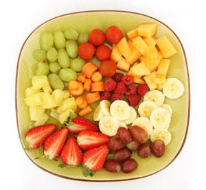 میوه و سبزیجات فصل, کنترل وزن, پیشگیری از چاقی