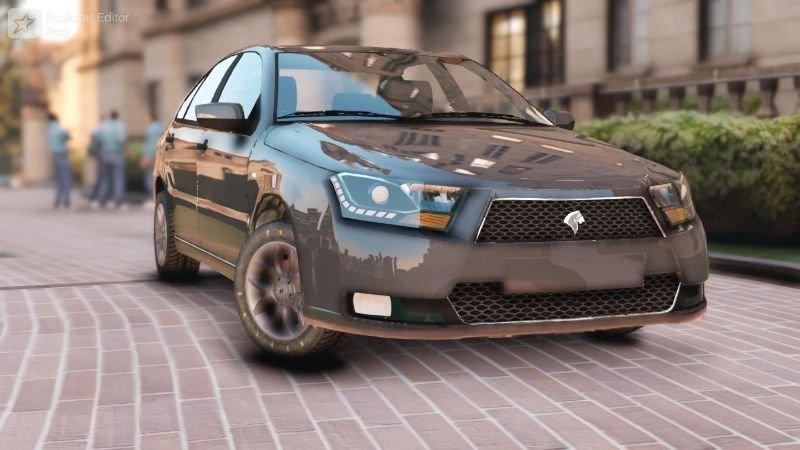 خودرو دنا پلاس برای GTA V