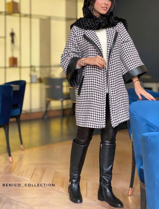 مدل مانتو شیک دخترانه زمستانی