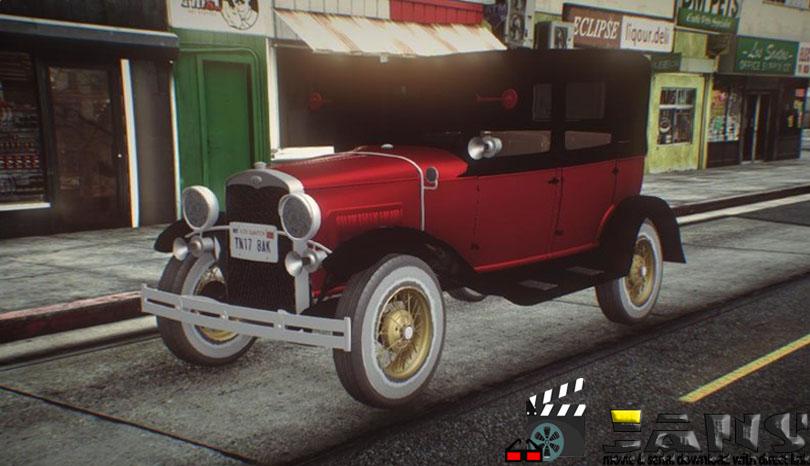 دانلود ماشین کلاسیک Ford Model A برای بازی GTA San Andreas