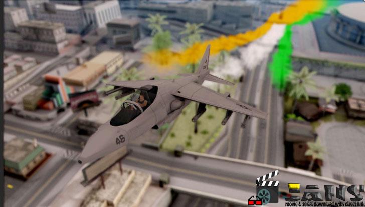دانلود مود مانور جت هوایی پرچم هند برای GTA SA