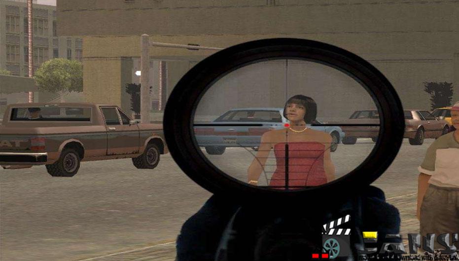 دانلود مود sniper scope برای GTA SA