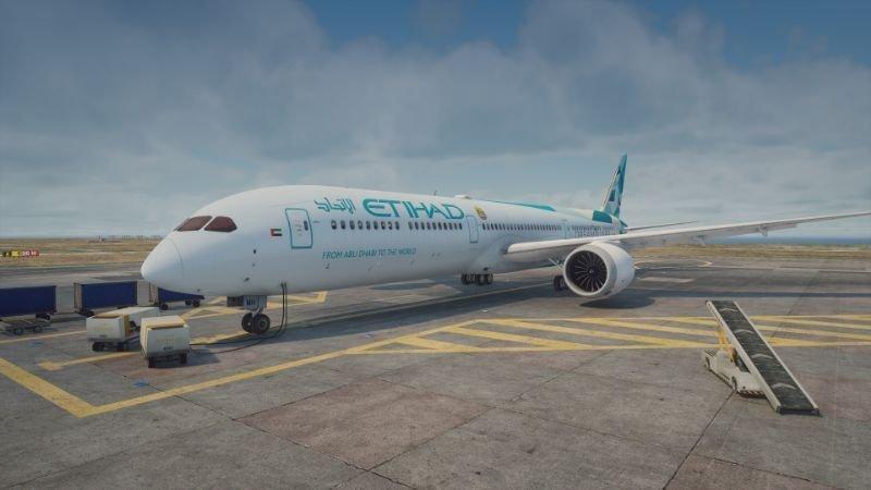 هواپیمای Boeing 787-10 برای GTA V