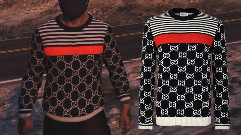 لباس طرح Gucci برای GTA V