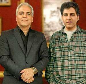 مهران مدیری قدیم و جدید در یک عکس