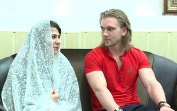 مرد روسی عاشق دختر ایرانی شد / ازدواج مرد روسی با دختر گیلانی