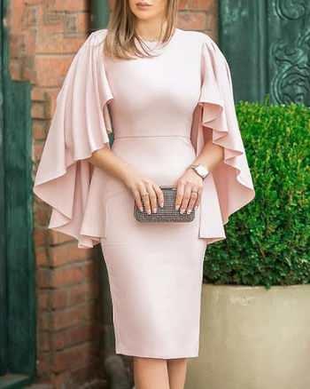 مدل پیراهن زنانه با آستین های باز و راحت