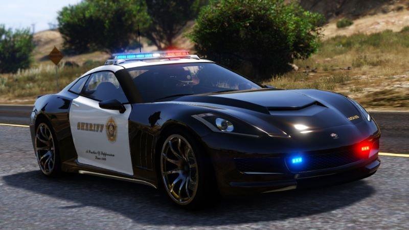 خودرو شرولت کروت پلیس برای GTA V