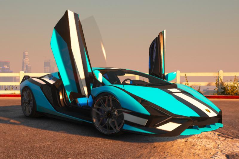 خودرو Lamborghini Sián برای GTA V
