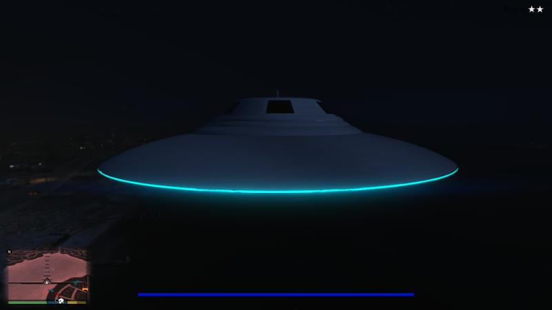 مود UFO برای GTA V